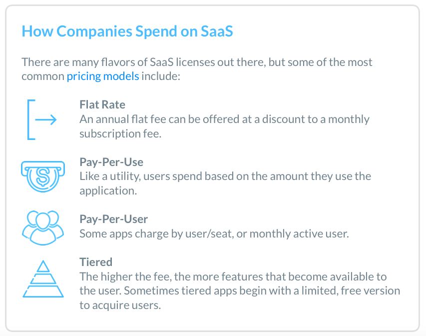How Companies Spend on SaaS