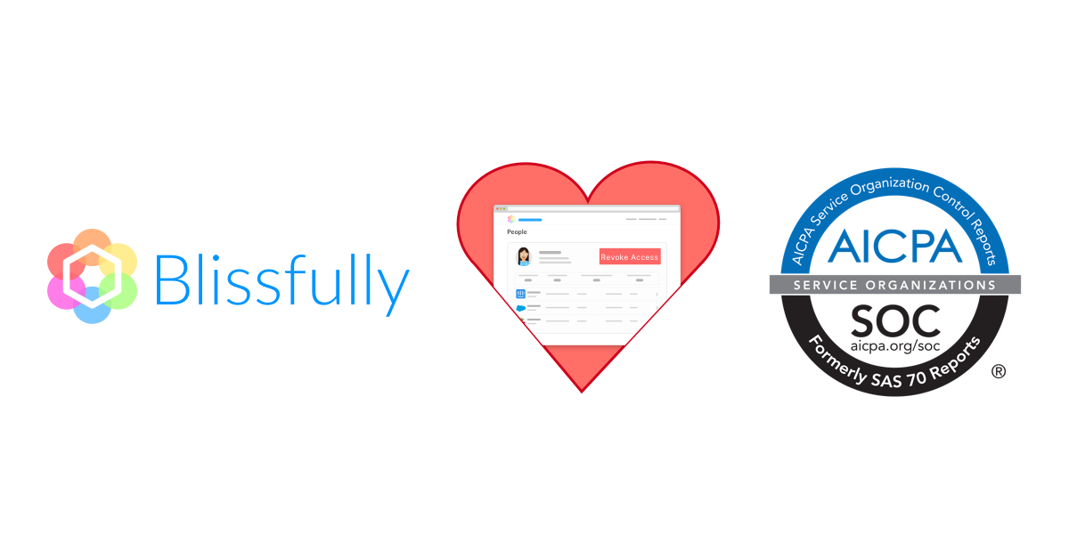 Blissfully loves security because we love our customers