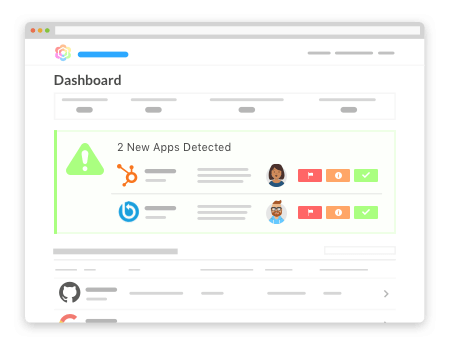 automatically discover and track saas