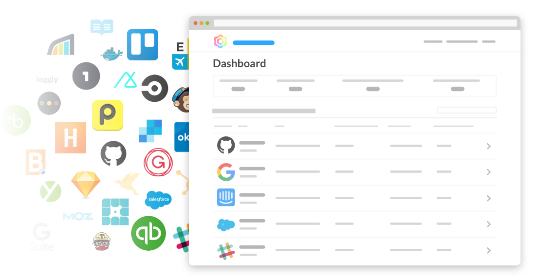 track and manage saas apps