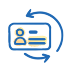 Employee Workflow Badge Icon