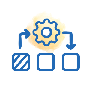 IT Automation Gear Icon